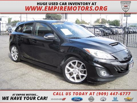 2012 Mazda MAZDASPEED3 for sale in Montclair CA