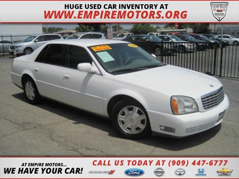 2003 Cadillac DeVille for sale in Montclair CA
