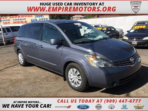 2008 Nissan Quest for sale in Montclair, CA