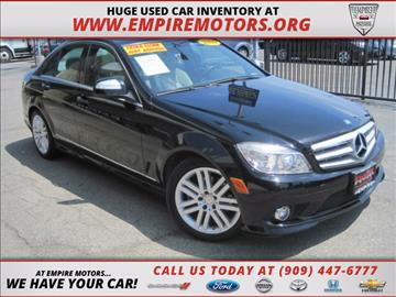 2009 Mercedes-Benz C-Class for sale in Montclair, CA