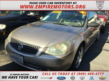 2006 Nissan Altima for sale in Montclair, CA