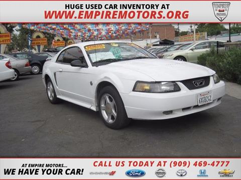 2004 Ford Mustang for sale in Montclair CA