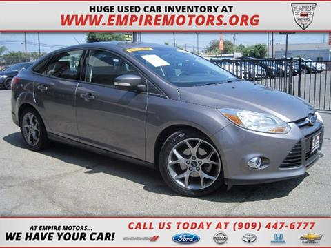 2013 Ford Focus for sale in Montclair CA
