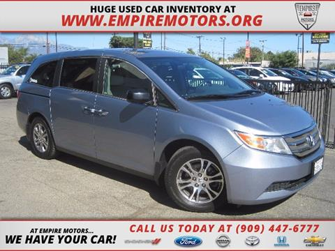 2013 Honda Odyssey for sale in Montclair, CA