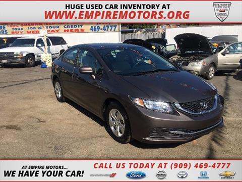 2015 Honda Civic for sale in Montclair CA