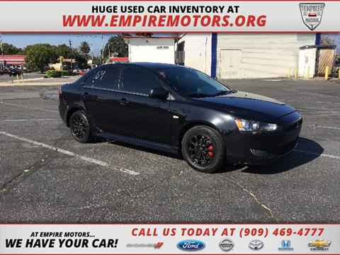 2012 Mitsubishi Lancer for sale in Montclair CA