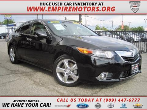 2012 Acura TSX for sale in Montclair CA