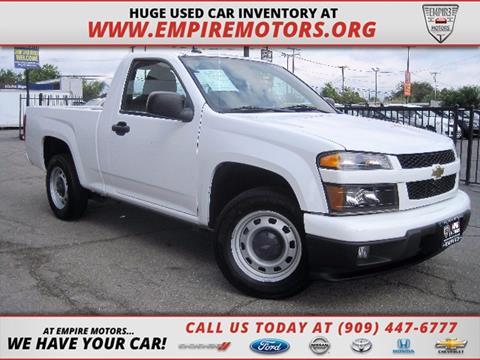 2012 Chevrolet Colorado for sale in Montclair, CA