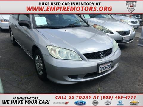 2005 Honda Civic for sale in Montclair, CA