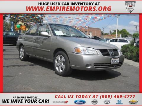 2005 Nissan Sentra for sale in Montclair CA