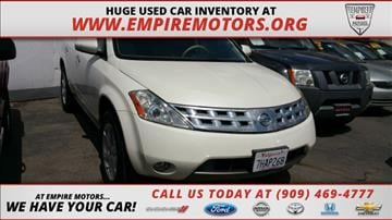 2003 Nissan Murano for sale in Montclair, CA