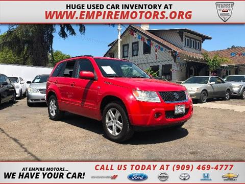 2006 Suzuki Grand Vitara for sale in Montclair, CA
