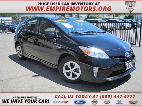 2012 Toyota Prius for sale in Montclair CA
