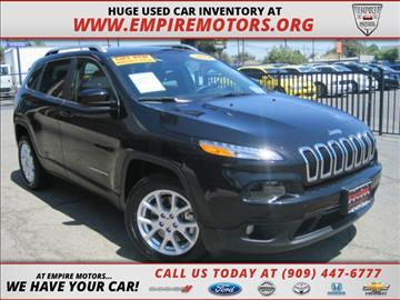 2014 Jeep Cherokee for sale in Montclair, CA