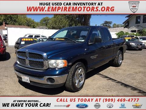 2004 Dodge Ram Pickup 1500 for sale in Montclair, CA