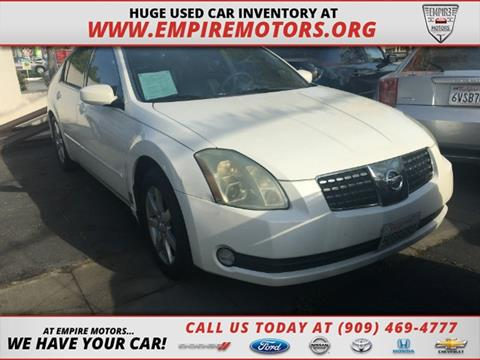2004 Nissan Maxima for sale in Montclair, CA