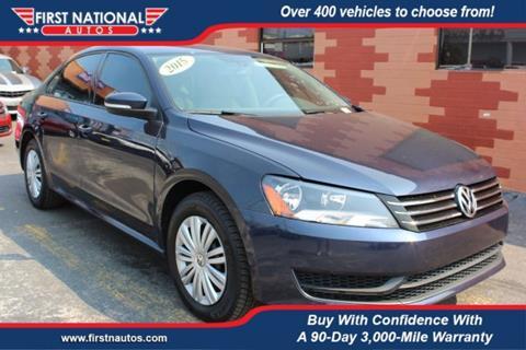 2015 Volkswagen Passat for sale in Everett, WA
