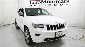 2015 Jeep Grand Cherokee for sale in Bethesda, MD