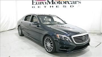 2015 Mercedes-Benz S-Class for sale in Bethesda, MD