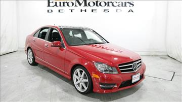 2014 Mercedes-Benz C-Class for sale in Bethesda, MD