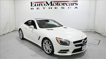 2013 Mercedes-Benz SL-Class for sale in Bethesda, MD