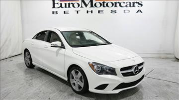 2016 Mercedes-Benz CLA for sale in Bethesda, MD
