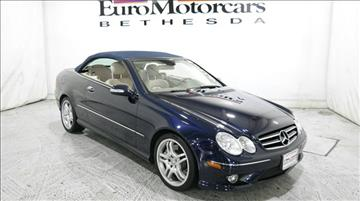 2009 Mercedes-Benz CLK for sale in Bethesda, MD