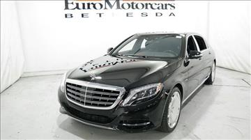 2016 Mercedes-Benz S-Class for sale in Bethesda, MD