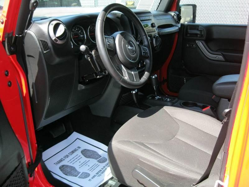2016 Jeep Wrangler Unlimited 4x4 Sport 4dr SUV - Ashland City TN