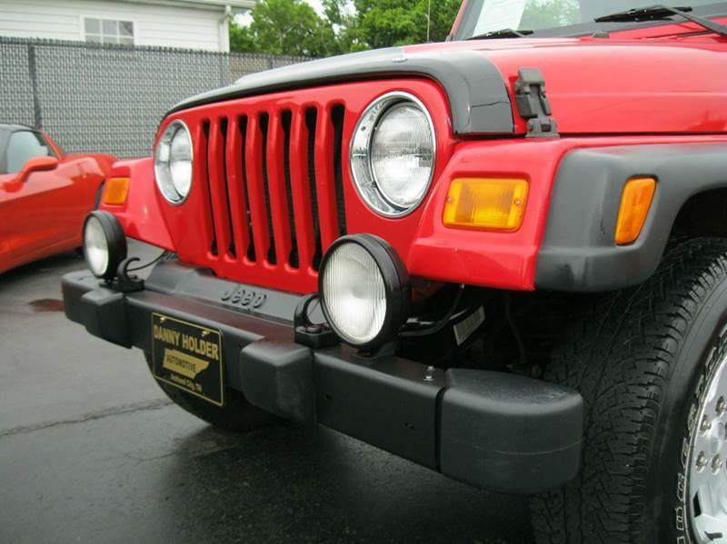 2005 Jeep Wrangler Sport 4WD 2dr SUV - Ashland City TN