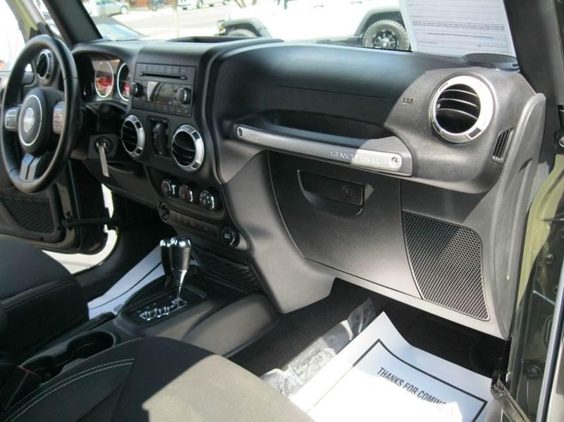 2015 Jeep Wrangler Unlimited 4x4 Sahara 4dr SUV - Ashland City TN
