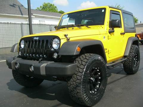 2015 Jeep Wrangler for sale in Ashland City, TN