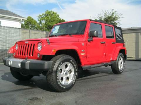 2014 Jeep Wrangler Unlimited for sale in Ashland City, TN