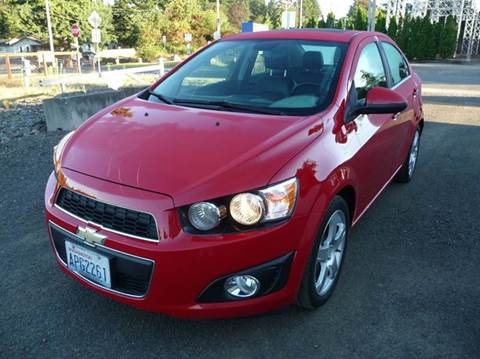 2013 Chevrolet Sonic for sale in Gig Harbor, WA