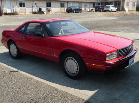 1990 Cadillac Allante for sale in Gig Harbor, WA