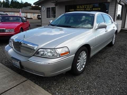 2005 Lincoln Town Car for sale in Gig Harbor, WA
