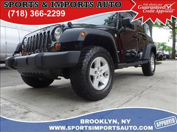 2010 Jeep Wrangler Unlimited for sale in Brooklyn, NY