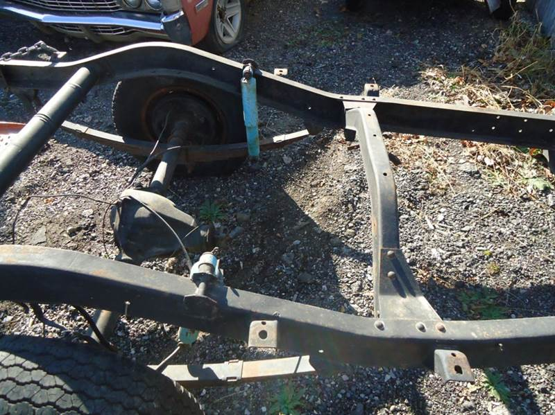 1960 Willys 4x4 Frame Jeep SW - Jackson Michigan MI