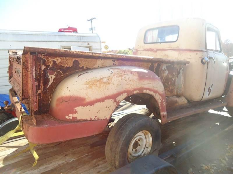 1948 GMC C/K 1500 Series rusty parts trk - Jackson Michigan MI