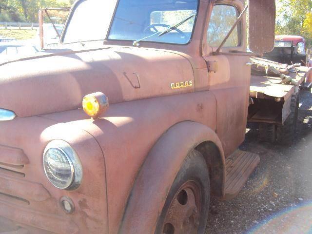 1954 Dodge stake    dump