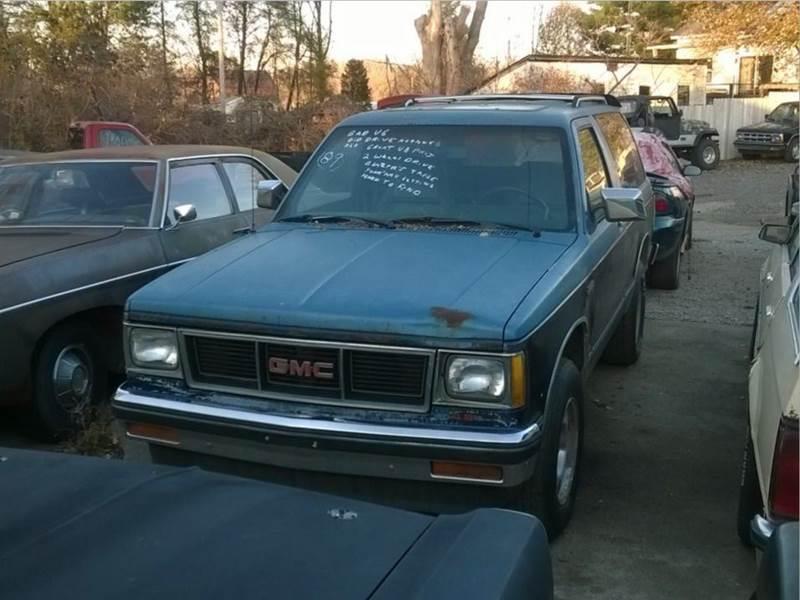 1989 GMC S-15 Jimmy