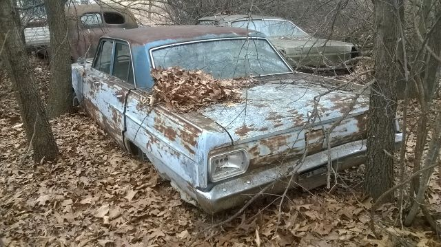 1965 Ford Fairlane parts car only - Jackson Michigan MI