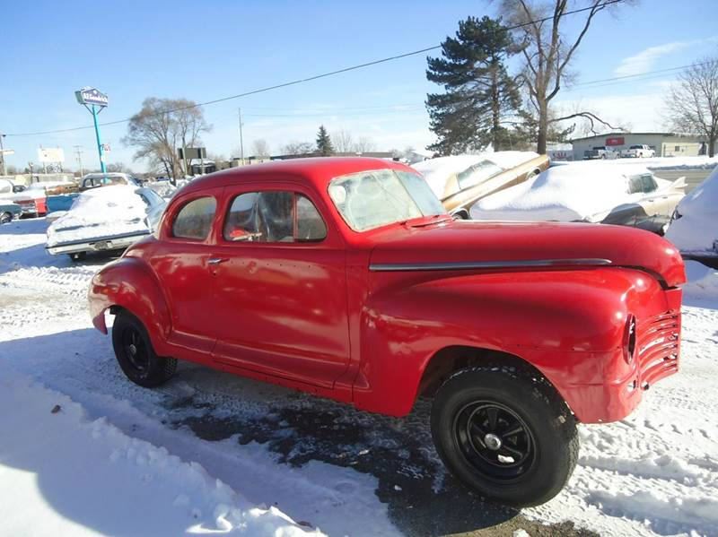 1948 Plymouth Deluxe Detroit Used Car for Sale