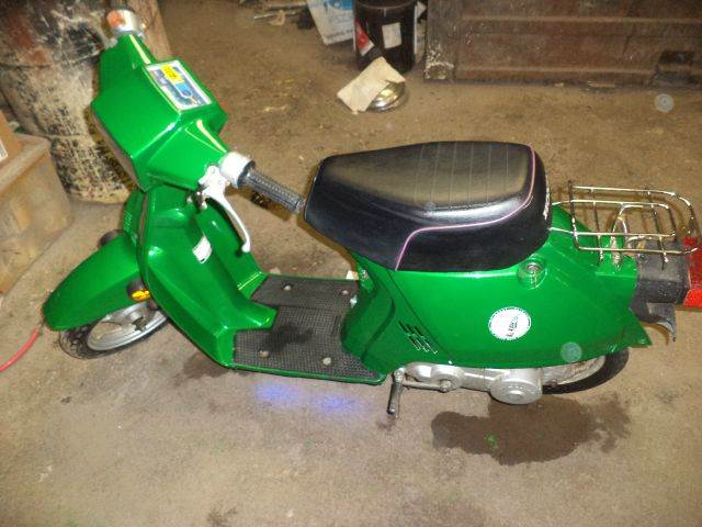 1986 Honda moped