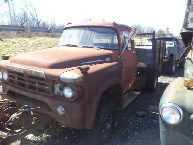1960 Dodge d 400 dump 4x4