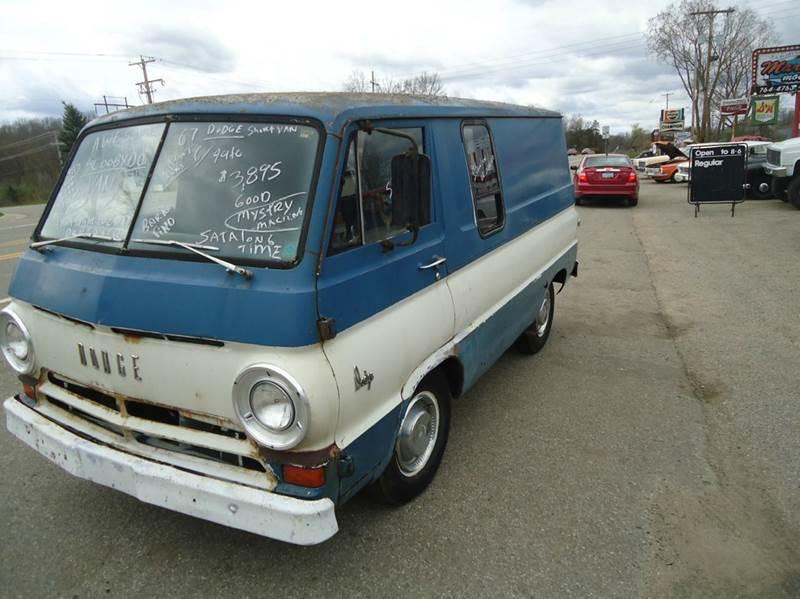 1967 Dodge short van scooby doo van - Jackson Michigan MI