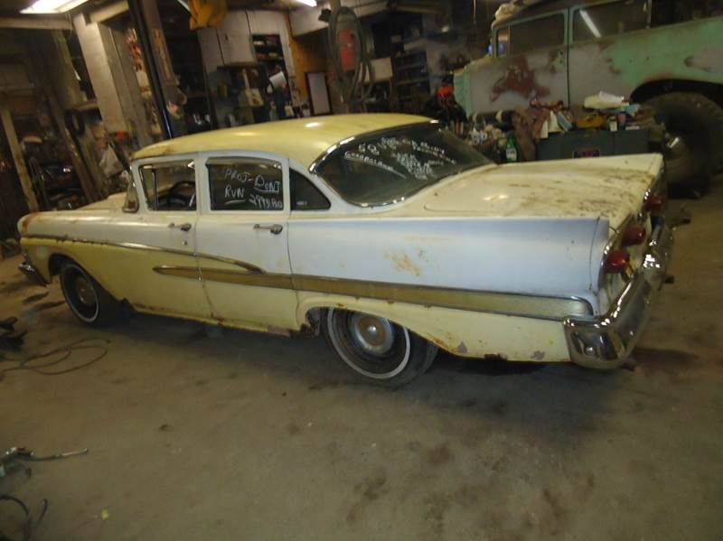 1958 Ford 4 Dr car for sale in Detroit