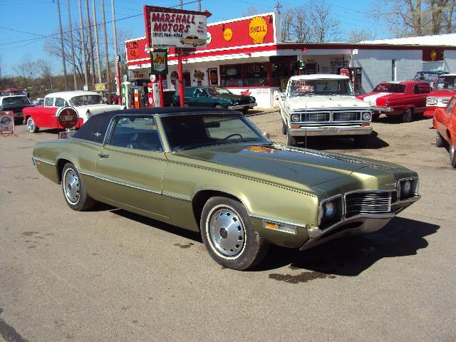 1971 ford thunderbird in jackson mi marshall motors classics