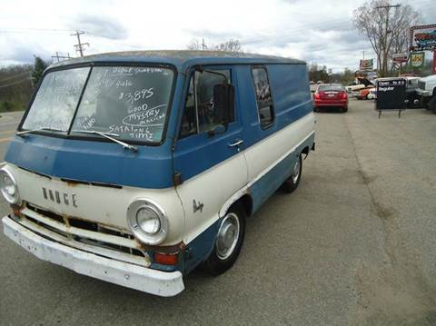 1967 Dodge short van