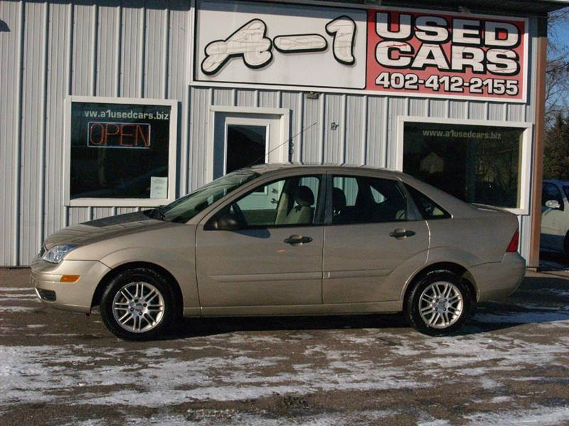 2007 Ford Focus ZX4 SE 4dr Sedan - South Sioux City NE